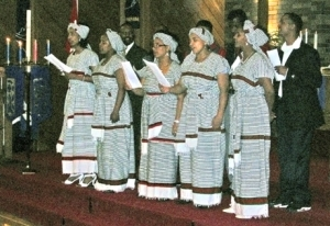 Choir from the Oromo community
