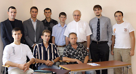 Ukraine seminary class